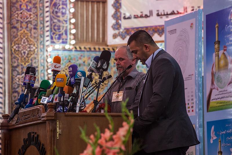 وولف غانغ: من يشارك في هذا المهرجان يعيش حقيقة الوحدة الإسلامية  290374_IMG_5566