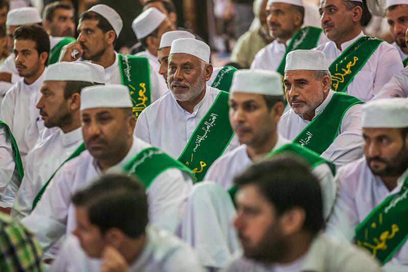 أمسية قرآنية في صحن أبي الفضل العباس عليه السلام 55-3-3