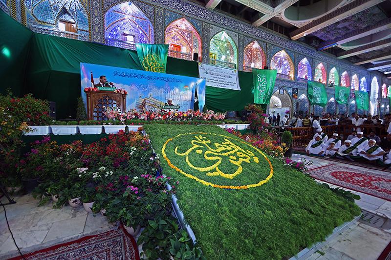 أمسية قرآنية في صحن أبي الفضل العباس عليه السلام 55-4-4