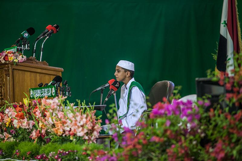 أمسية قرآنية في صحن أبي الفضل العباس عليه السلام 55-5-5