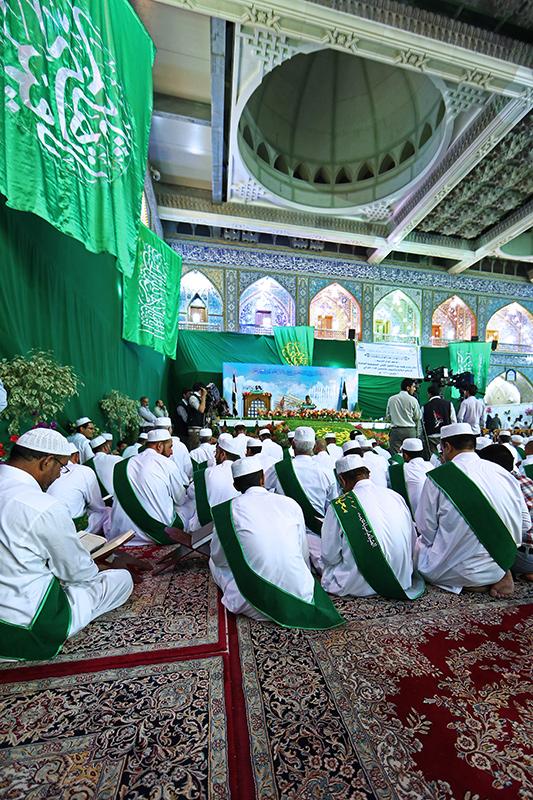 أمسية قرآنية في صحن أبي الفضل العباس عليه السلام 55-6-6