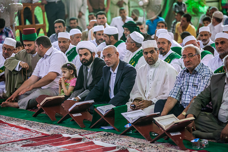 أمسية قرآنية في صحن أبي الفضل العباس عليه السلام 55-8-8