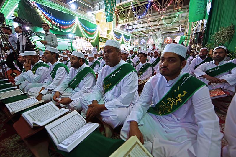 أمسية قرآنية في صحن أبي الفضل العباس عليه السلام 55-9-9