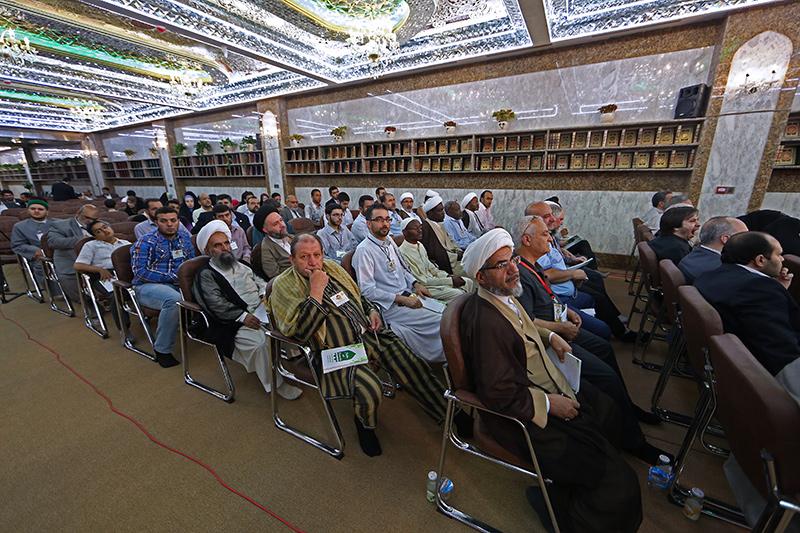 انطلاق أولى الجلسات البحثية ضمن فعاليات مهرجان ربيع الشهادة الثقافي العالمي التاسع 58-10-11
