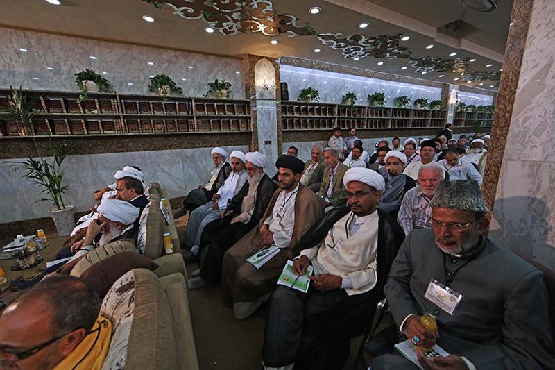 انطلاق أولى الجلسات البحثية ضمن فعاليات مهرجان ربيع الشهادة الثقافي العالمي التاسع 58-11-12