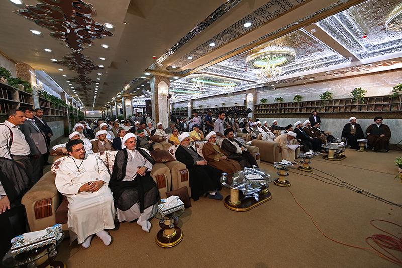 انطلاق أولى الجلسات البحثية ضمن فعاليات مهرجان ربيع الشهادة الثقافي العالمي التاسع 58-14-1