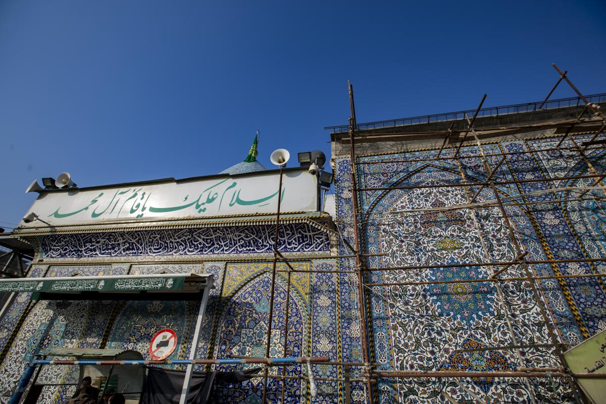 Latest updates in the expansion project of Maqam of Imam al-Mahdi (may Allah hasten his holy reappearance) in Karbala.