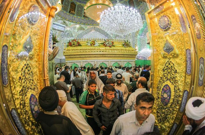 The Holy Shrine of Imam Ali (peace be upon him)