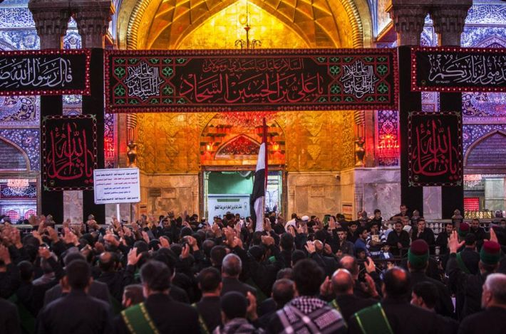 The Holy Shrine of Imam Al-Hussayn (peace be upon him)