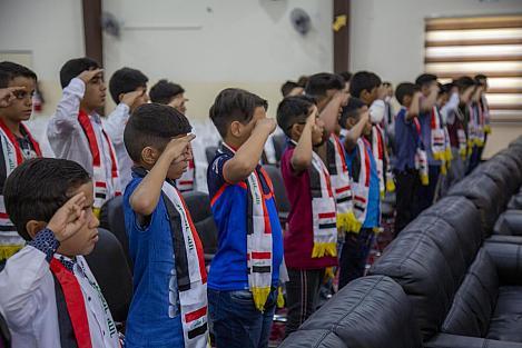 ضمن الاستعدادات الأمنيّة لشهرَيْ محرّمٍ وصفر: قسمُ الشعائر والمواكب والهيئات الحسينيّة يعقد اجتماعاً