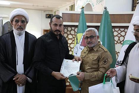 L'hôpital Al-Kafeel a fourni des services médicaux et de traitement gratuit à 10 289 combattants de la mobilisation populaire.